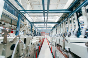Automated electroplating line
