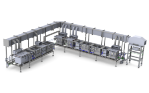 Copper and its alloys processing line