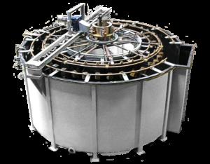 Semi-automatic galvanazing ring